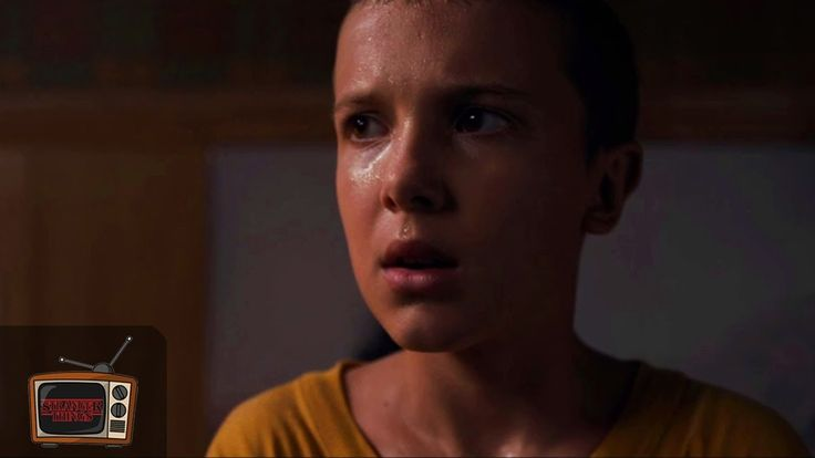 """Stranger Things 1x02   """"She Tried to Get Naked"""" Eleven Clothes Scene   Clip"""