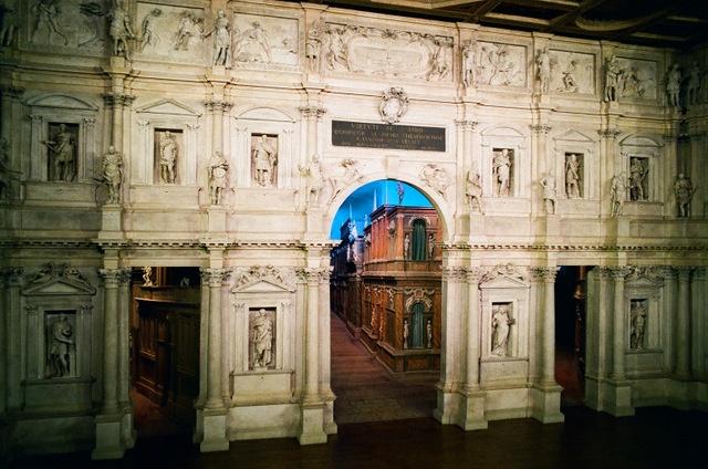 Vicenza - Teatro olimpico, architetto Palladio - 2013 Foto di Alba Rigo