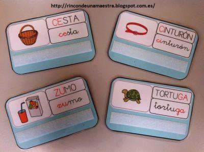 Materiales manipulativos Super Tarjetas con las reglas de ortografía