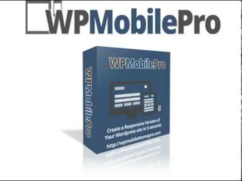 WP Mobile Pro - Unlimited | Green Sales