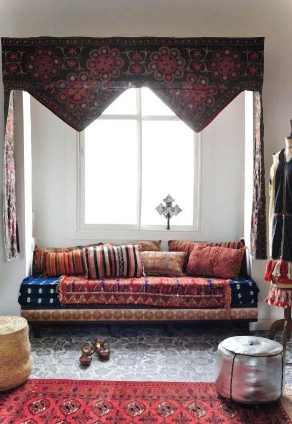Estancias de inspiraci n marroqu home decor pinterest for Cortinas marroquies