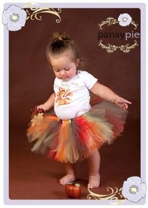 Baby Thanksgiving Outfit Fall Tutu Dress Infant Thanksgiving Outfit 9 12 18 24 Months. $32.99, via Etsy. by estelle
