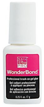 Nail Bliss Wonder Bond Brush On Glue Gel