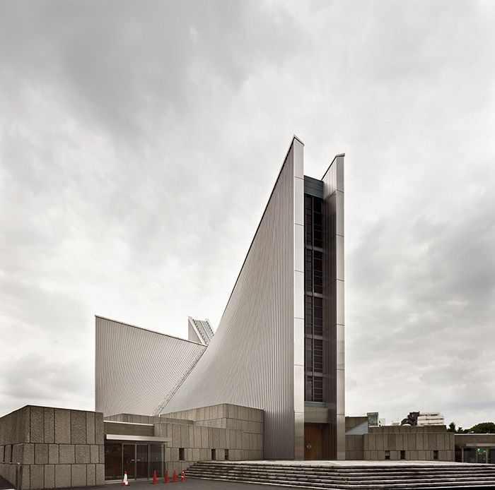 Cathédrale de Saint Mary, Tokyo, par Kenzō Tange