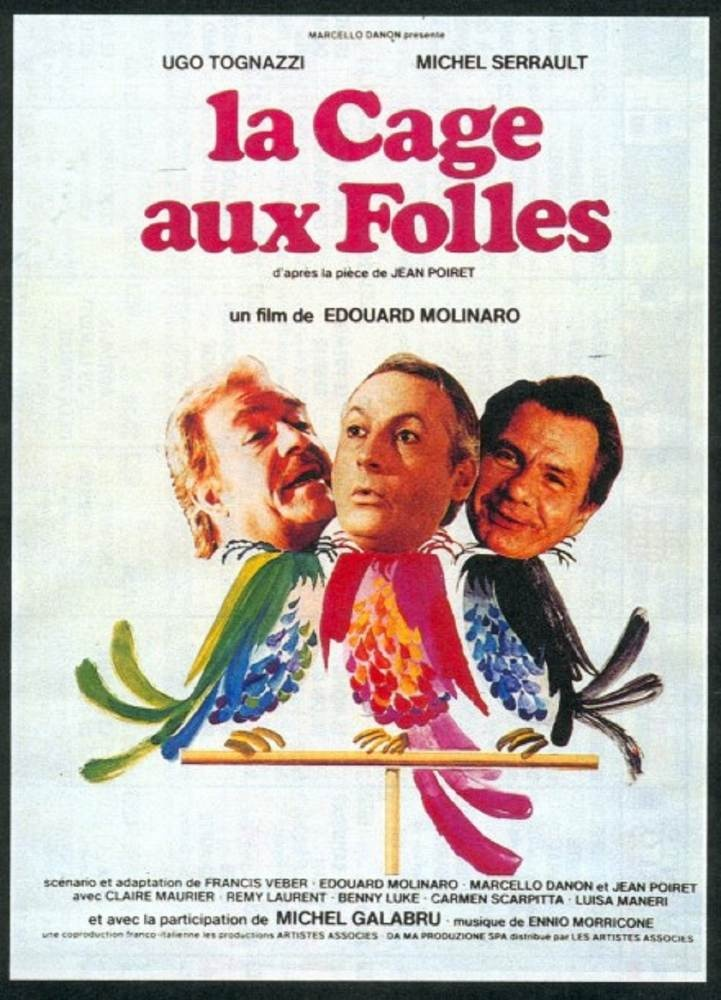 1979 la cage aux folles edouard molinaro franco italien favorites movies pinterest gay. Black Bedroom Furniture Sets. Home Design Ideas