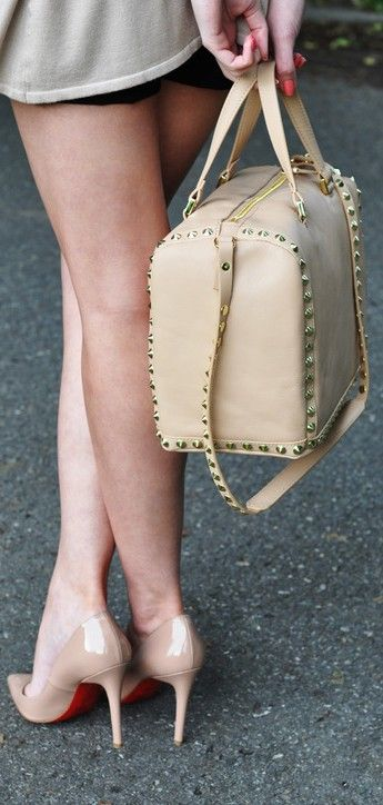 shoes and bag christian louboutin ♥✤ | Keep the Glamour | BeStayBeautiful