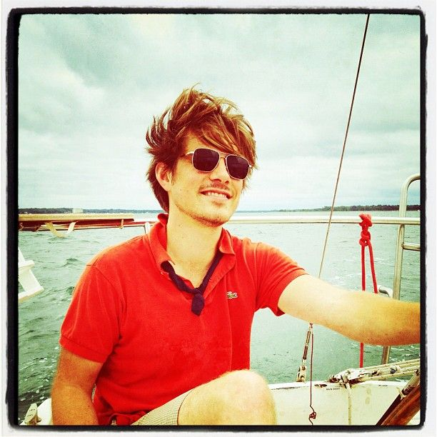 """To do in 2012- learn to sail - Done. Now I can randomly sneak in sailing terms. """"So glad I got a seat on the starboard side of the plane""""Heart, Things Hanson, Beautiful Man, Boats, Boys, Awe Men, Beautiful People, Taylors Hanson, Fake Boyfriends"""