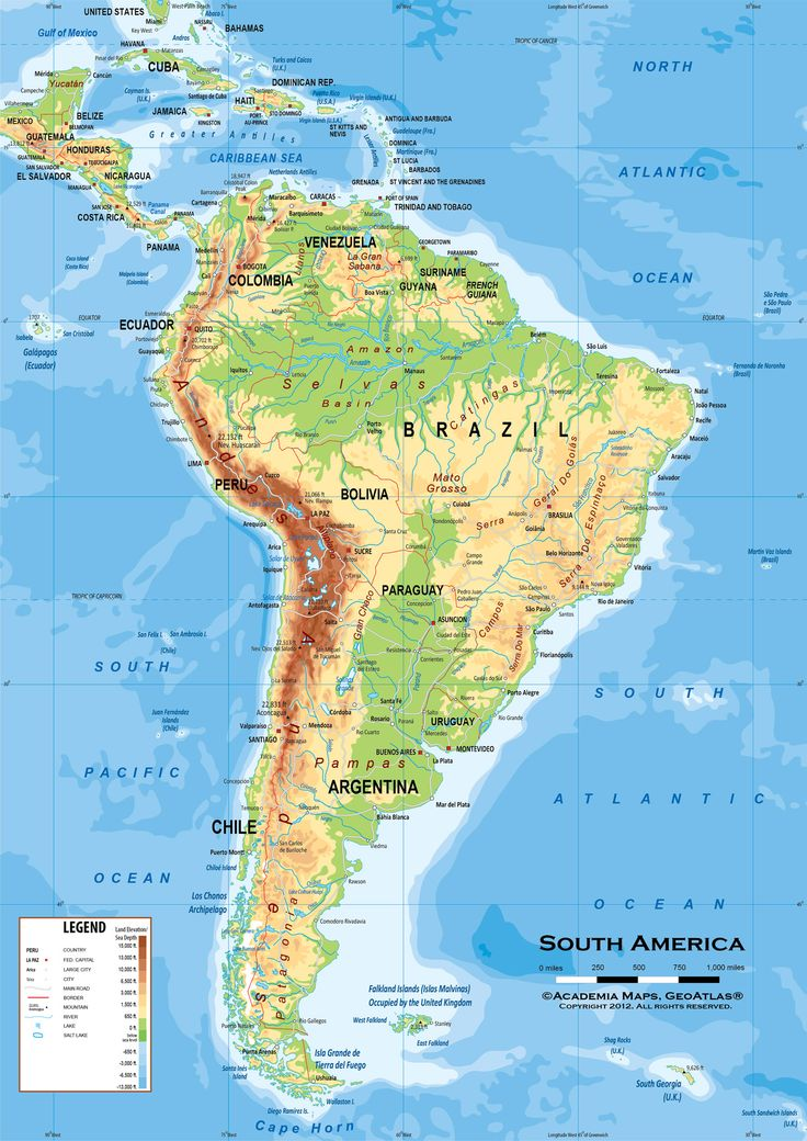 Best Latin America Political Map Ideas On Pinterest Latin - Physical of map venezuela