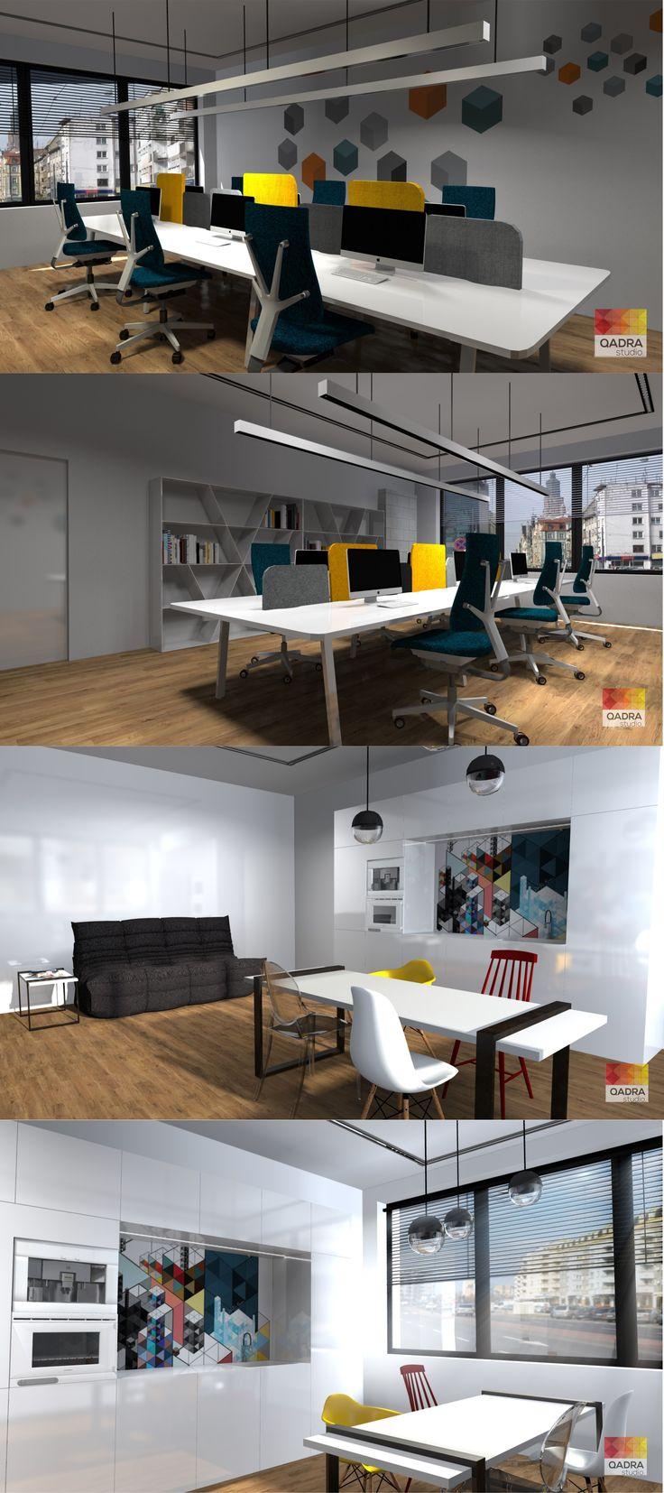 Projekt i wizualizacje: Kamila Mucha QADRA studio. www.qadrastudio.pl www.facebook.pl/qadrastudio  #biuro agencji kreatywnej