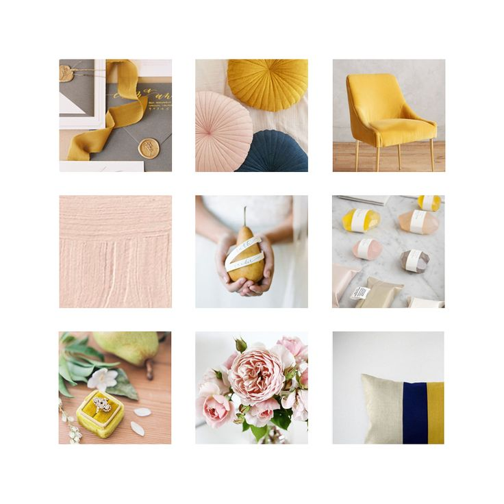 One of the first things Katherine Bly and I agreed on was: MUSTARD! This is what our mood board ended up looking like. Click through to see the rest of the project!
