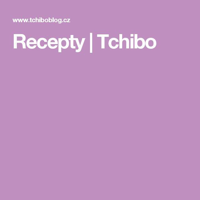 Recepty   Tchibo