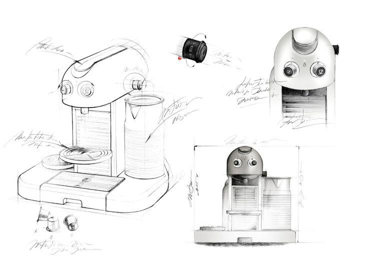 illustration machine à café NESPRESSO Florence Gendre #illustration #design #Nespresso