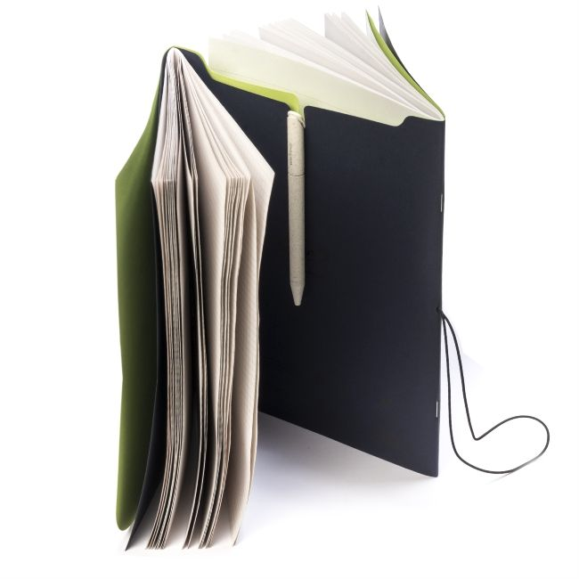 "Arbos ""Twist"" notebooks for Confartigianato #arbos #twist #recycled #paper"