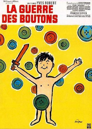 affiche la guerre des boutons film 1963