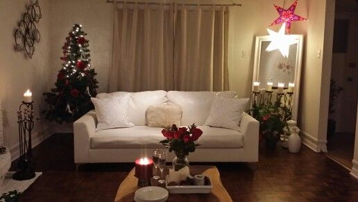 Romantic set up for family room