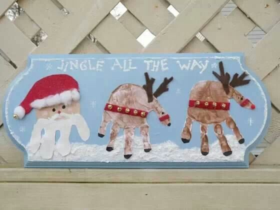 Really creative way for kids to spread Christmas cheer!
