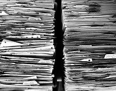 Fichiers, Papier, Bureau