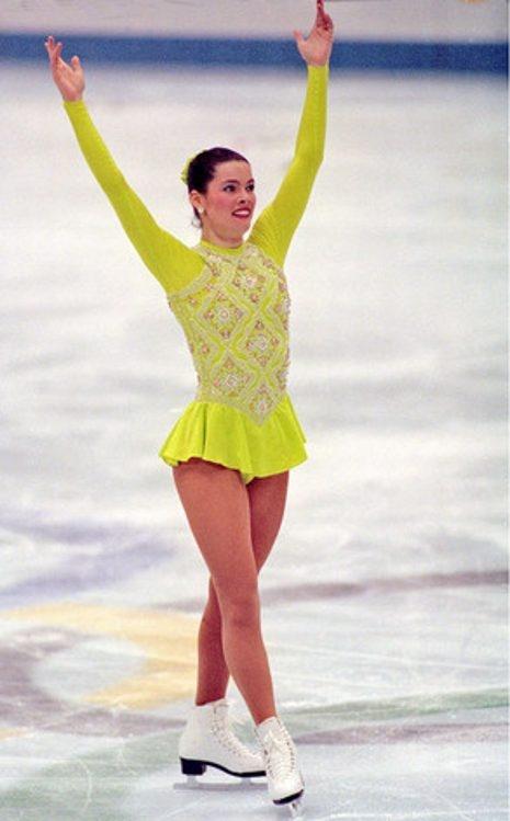 Nancy Kerrigan, silver medal winner at the 1994 Lillehammer games!