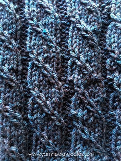 The Triple 'T' Knit Stitch – The Twisted Trill with FREE Pattern Link | Yarn|Hook|Needles