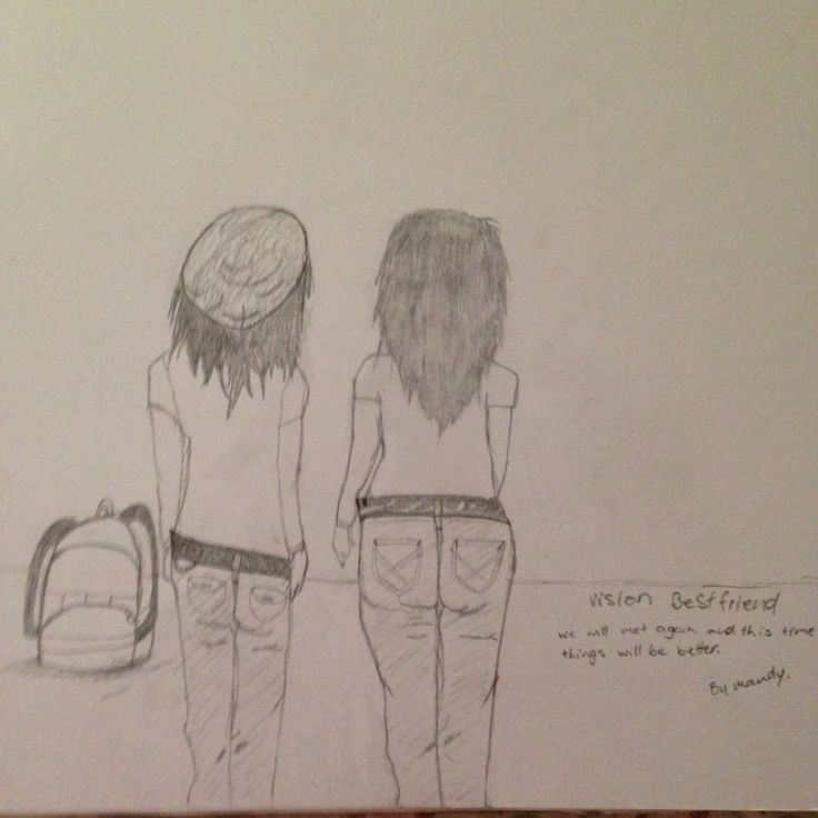 A vision I had so I drew it. #mybestfriend #itwillbebetter #hope #frommyhead