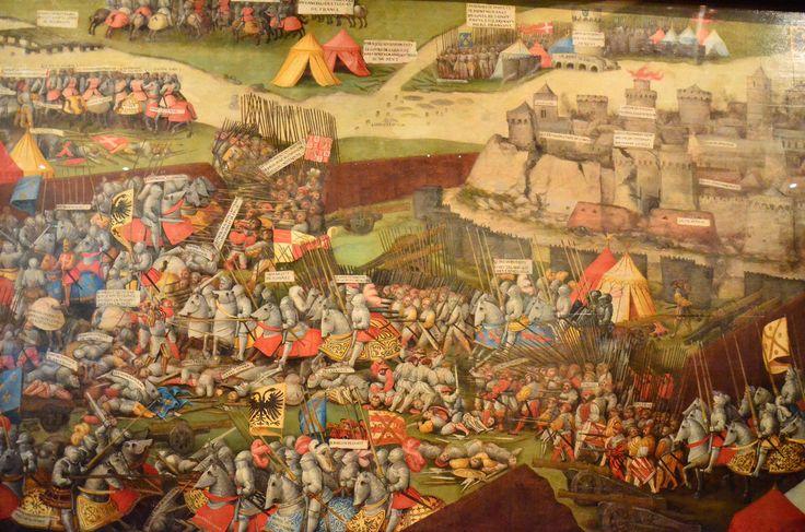 Battle of Pavia, Ashmolean Museum