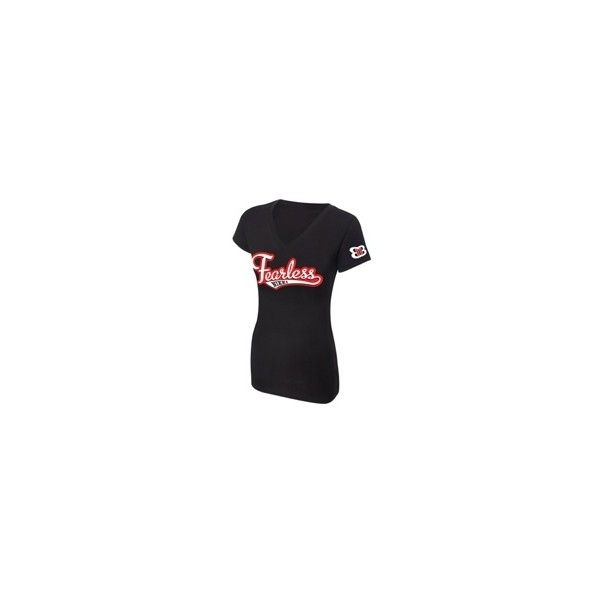 """Nikki Bella """"Fearless Nikki"""" Women's V-Neck Authentic T-Shirt ❤ liked on Polyvore featuring tops, t-shirts, v-neck top, v-neck jersey, v-neck tee, v neck tee and collar top"""