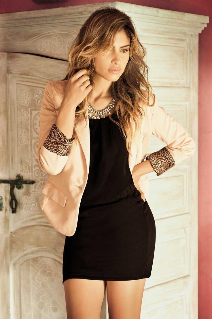 46-Vestido E064541 Blazer 72258 Collar va con el vestido