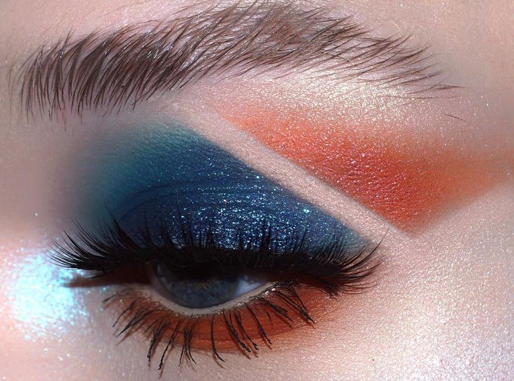"""405 Likes, 12 Comments - Aaron Storms (@aaronsmakeup) on Instagram: """"split __ @sugarpill """"Kimchi"""" and """"Flamepoint"""" shadows @urbandecaycosmetics """"Vega"""" and """"Element""""…"""""""
