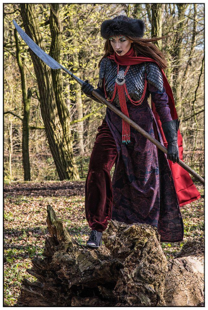 My costume: The Silk Road Warrior Photo by Inge Fienig. Costume design and model: Eva Helena