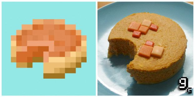 Minecraft Pumpkin Pie | 21 Mouthwatering Video Game Foods In Real Life