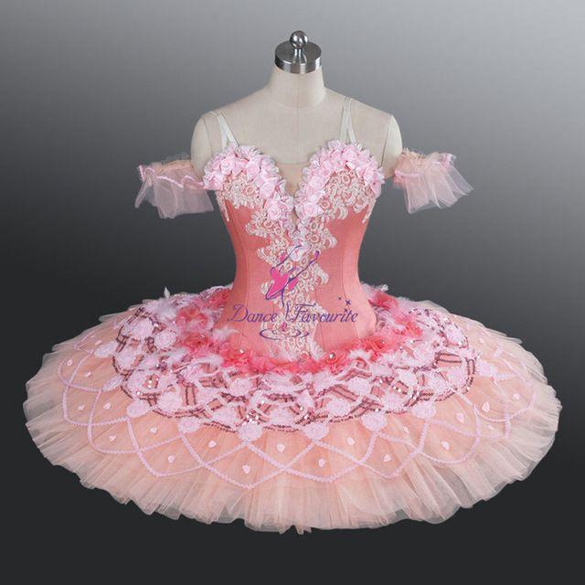 # Adult professionele klassieke ballet tutu roze romantische concurrentie platter tutu ballerina kostuums voor vrouwen meisjes BL1185