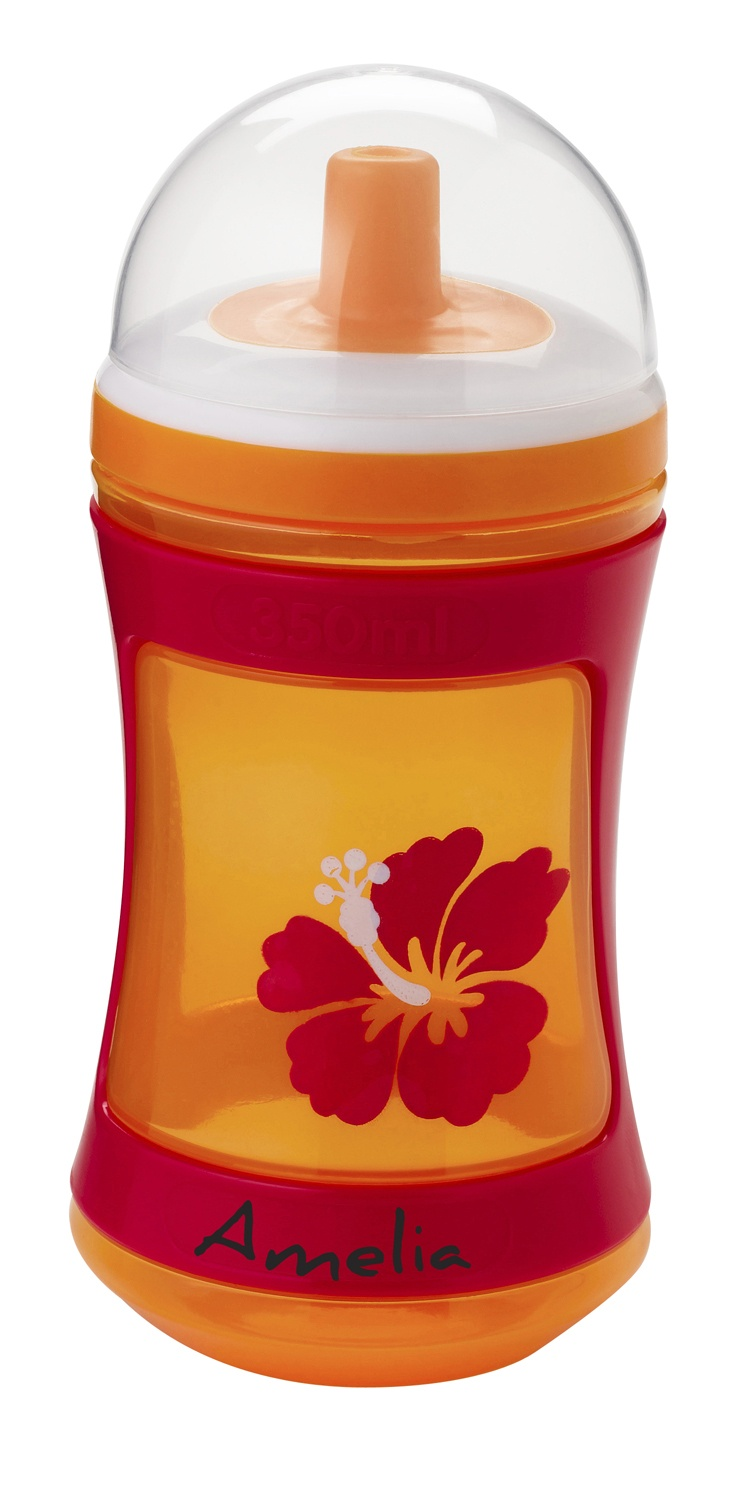 Tommee Tippee® discovera® Active Tipper 12m+ #sippycup #tommeetippeeau #discovera #cutecup #amelia #toddler #orange #hibiscus #summer #flower #hawaii