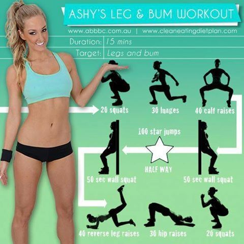Ashy Bines exercise routine Off topic, but ... her name is Ashy?