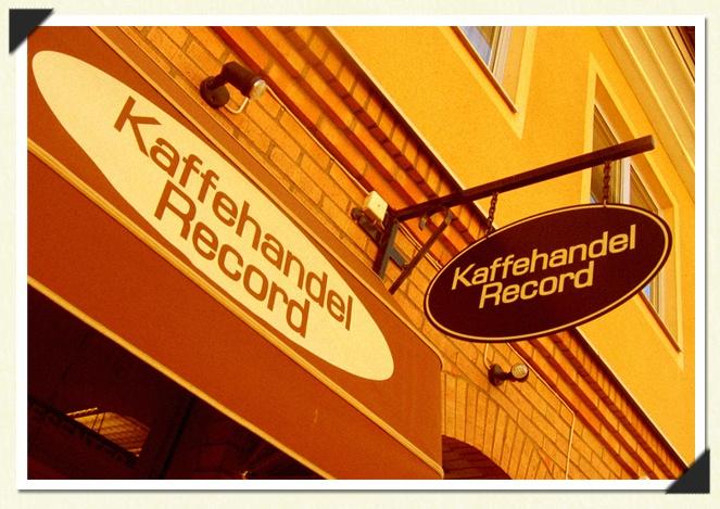 Kaffehandeln Record, Storgatan 5E Falköping