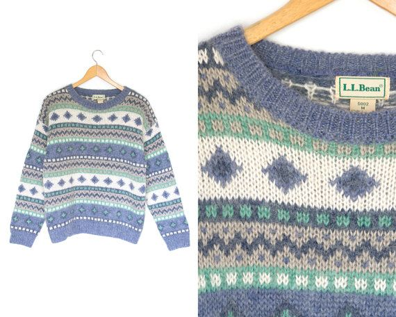 Vintage Striped Sweater Mohair Wool By LiveToLiveVintage