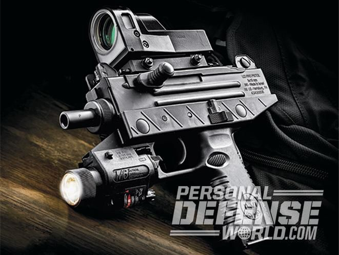IWI's Uzi Pro Pistol brings iconic spec-ops style to your home-defense arsenal.