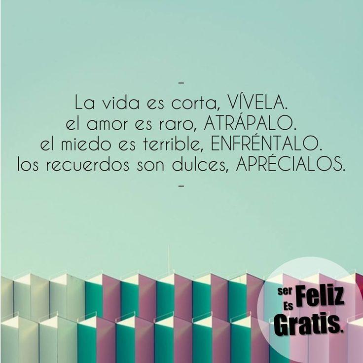 Ser feliz es Gratis