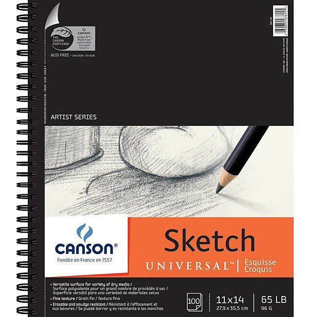 Pro-Art Canson Universal 11x14-in Sketch Pad