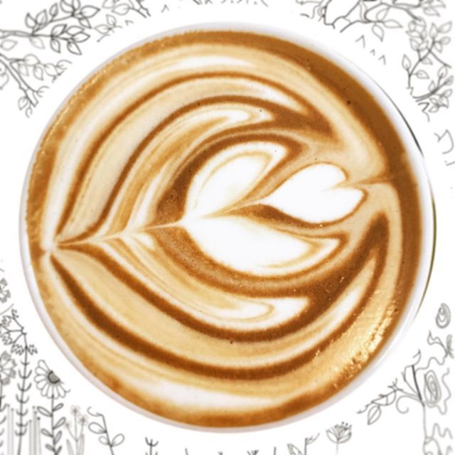☕️Who loves a smooth coffee?? My free-pouring is getting better  #coffee #coffeeart #coffeecup #doodle #doodleart #doodles #art #cute #cafe #chino #creative #cappuccino #caffeine #preworkout #pretty #design #freepour #tulip #lattee #flatwhite #espresso #allpress #carmello #supremo #blend #allpressespresso #zest #zestcafe @zestcafenowra #barista #work