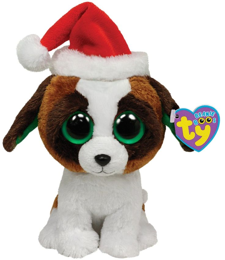 Ty Beanie Boos Presents Dog with Hat Toys