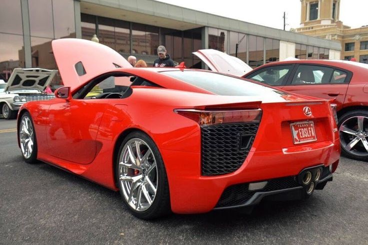 Lexus LFA Lexus LFA Luxurycars Automotive Lexus