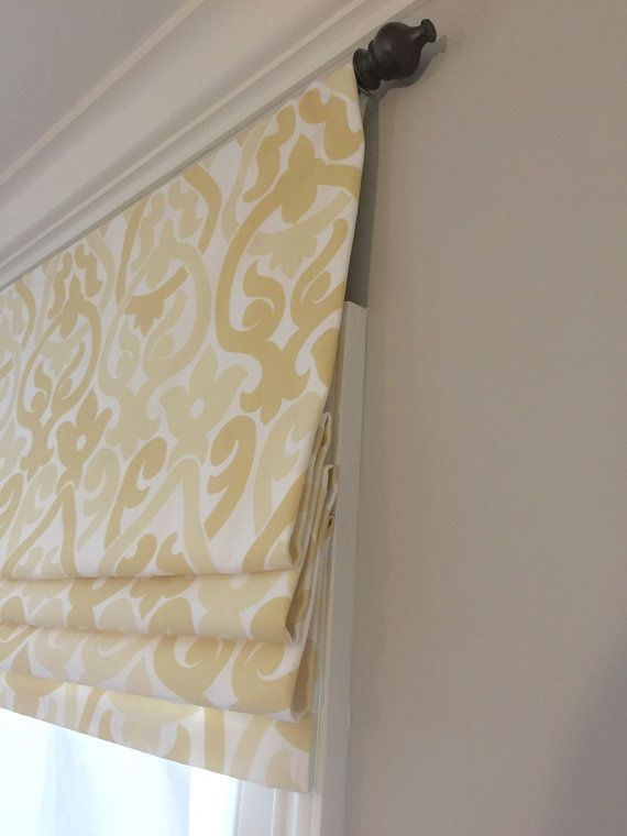 Faux Fake Flat Roman Shade Valance Your Choice Of