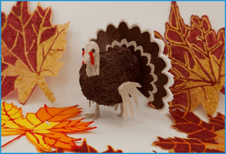 Image of 3D Pen Templates / 3D Pen Stencils: Thanksgiving Turkey