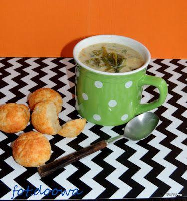 Moje Małe Czarowanie: Zupa z jarmużem