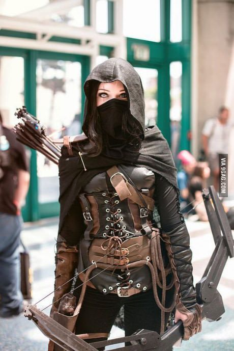 Thief cosplay - If I had this, I would live in this.