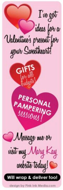 22 best Mary kay Valentine\'s Day ideas images on Pinterest ...