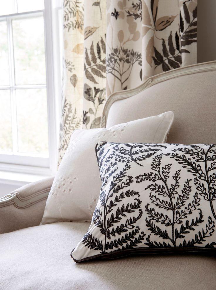"""Her er tekstilene """"Wild Garden"""" som føres av Borge. www.borge.no"""
