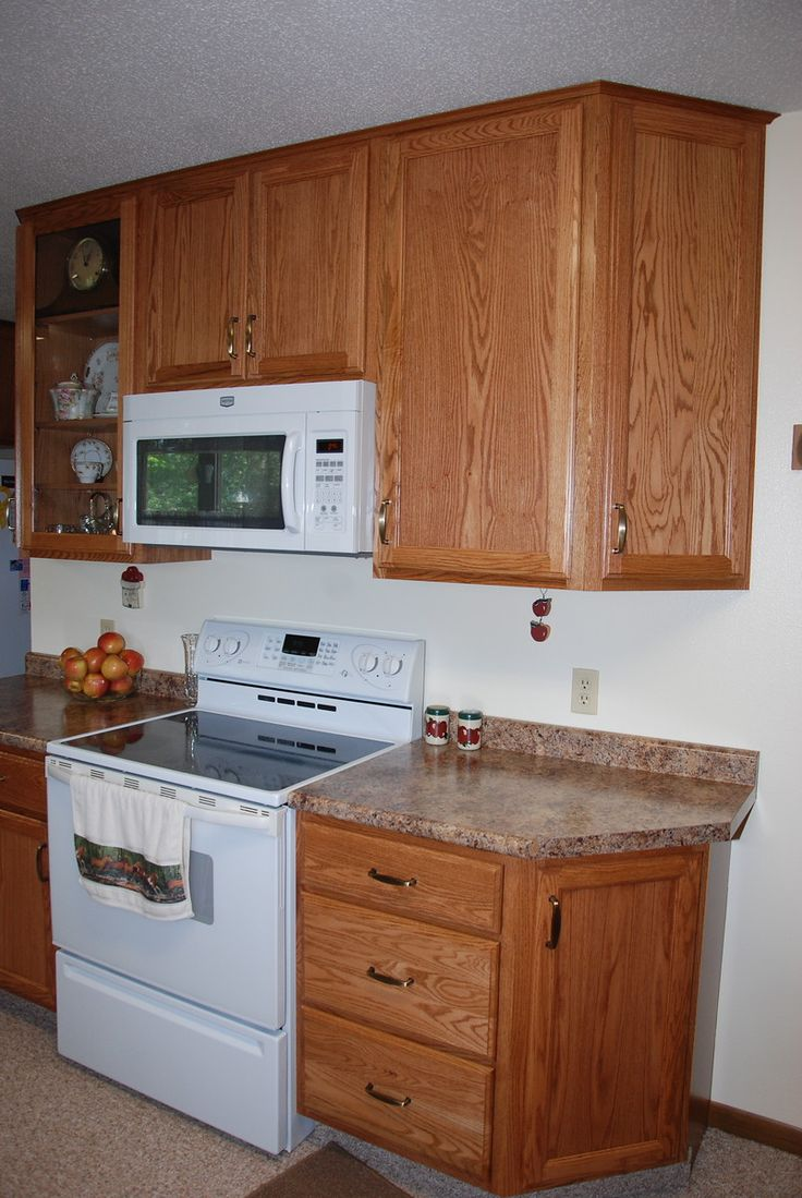 1000 images about new kitchen ideas on pinterest gray for Kraftmaid microwave shelf