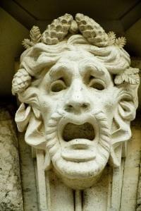 Greek Drama Masks love to know. SJ Stratford