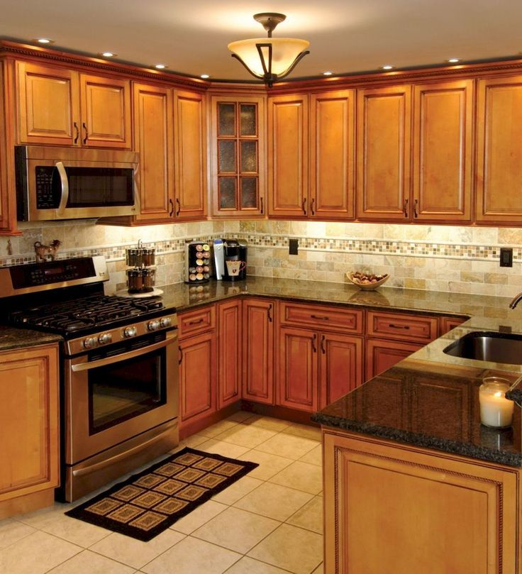 100 best oak kitchen cabinets ideas decoration for farmhouse style 97 maple kitchen cabinets on farmhouse kitchen maple cabinets id=98689